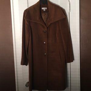 Women's wool And mohair coat